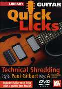 Quick Licks for Guitar: Paul Gilbert-Technical , Andy James
