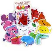 Giant Guts Sticker: Pack of 15