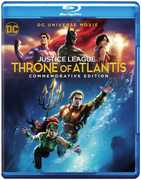 Justice League: Throne of Atlantis (Commemorative Edition) (DCU)