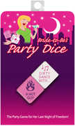Bride-To-Be Party Dice