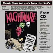 Classic Blues Artwork 1920's Calendar 2009 /  Various