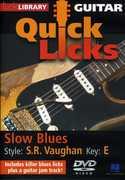 Quick Licks: Stevie Ray Vaughan Slow Blues - Key: E , Jamie Humphries