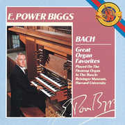 Great Organ Favorites , J.S. Bach