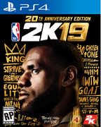 NBA 2K19 - 20th Anniversary Edition for PlayStation 4