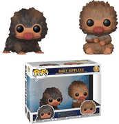 FUNKO POP! MOVIES: Fantastic Beasts 2- Baby Niffler (Brown & Tan) 2PK