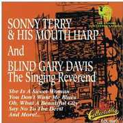 Sonny Terry and His Mouth Harp and Blind Gary Davis Singing Reverend