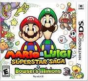 Mario & Luigi Super Star Saga + Bowser's Minions for Nintendo 3DS