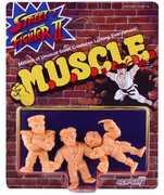 Super7 - M.U.S.C.L.E. - Street Fighter II MUSCLE 3-Pack - Pack A