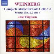 Complete Music for Solo Cello 2 , Yosif Feigelson