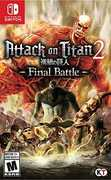 Attack on Titan 2: Final Battle for Nintendo Switch
