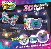 Shrinky Dinks 3D Butterfly Lights