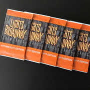 Lights of Broadway: Show Cards Autumn 2017 5 Pack