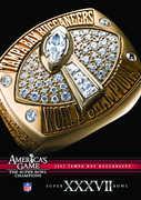 Nfl America's Game: 2002 Buccaneers (Super Bowl XXXVII)