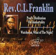 Paul's Meditation On Immortality/ Watchman, What Of The Night?