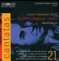 James Gilchrist - Cantatas 21
