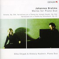 J. BRAHMS - Works for Piano Duo