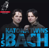 Katona Twins - French Suite 5 BWV816 / English Suite 3 BWV808