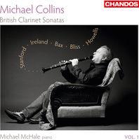 Michael Collins - British Clarinet Sonatas 1