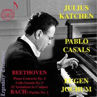 Pablo Casals - Beethoven & Bach
