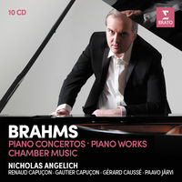 Nicholas Angelich - Brahms Piano Concertos Piano Works - Violin