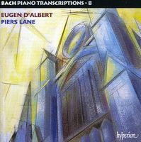 J.S. Bach - Piano Transcriptions 8