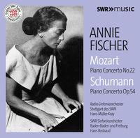 Annie Fischer - Mozart & Schumann: Piano Concertos