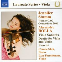 A. ROLLA - Sonatas For Viola & Piano