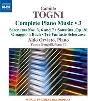 Aldo Orvieto - Camillo Togni: Complete Piano Music 3
