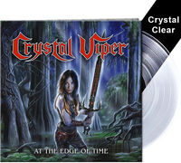 Crystal Viper - At The Edge Of Time (10in) [Clear Vinyl]