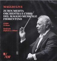 ZUBIN MEHTA - Verdi: Te Deum / Mahler: Sym 1
