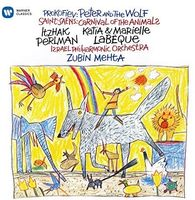 Itzhak Perlman - Saent-Sans: Carnival of the Animals / Prokofiev: Peter and the Wolf (Perlman narrates)