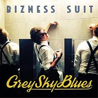 Bizness Suit - Grey Sky Blues