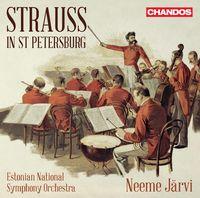 Neeme Järvi - Strauss In St Petersburg