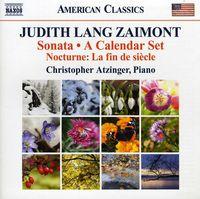 Christopher Atzinger - Sonata / Calendar Set / Nocturne: Fin De Siecle