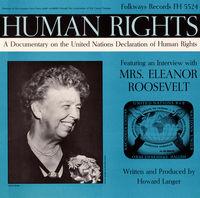Eleanor Roosevelt - Human Rights: United Nations Declaration