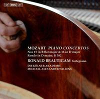 Ronald Brautigam - Piano Concertos Nos. 15 & 16