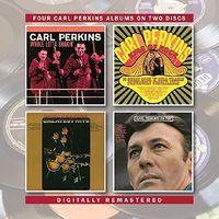 Carl Perkins - Whole Lotta Shakin / King Of Rock / Greatest Hits / On Top