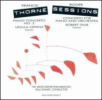 Francis/Sessions,Roger Thorne - Concerto for Piano & Orchestra / Piano Cto 3