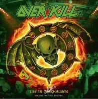 Overkill - Feel The Fire [Green w/ Orange & Yellow Splatter 2LP]