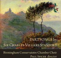 Birmingham Conseratoire Chamber Choir - Partsongs