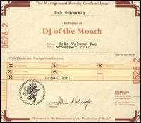 Bob Ostertag - Vol. 2-Dj Of The Month
