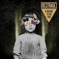 Destrage - A Means To No End [Green Camo Vinyl]