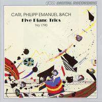 C.P.E. Bach - 5 Piano Trios