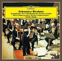 Claudio Abbado - Brahms: Symphony No. 1. Academic (Jpn) (Rubd)
