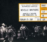Neville Brothers - Authorized Bootleg-Warfield Theatre-San Francisco, February 27, 1988