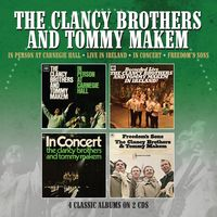 Clancy Brothers / Tommy Makem - In Person At Carnegie Hall / Recorded Live In Ireland / In Concert /Freedom's Sons