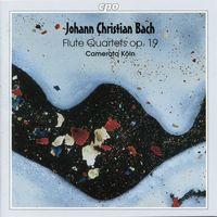 J.C. BACH - Flute Quartets Op 19