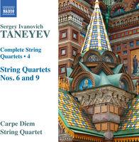 Carpe Diem String Quartet - Taneyev: Complete String Quartets, Vol. 4