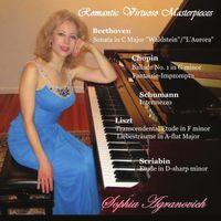 Sophia Agranovich - Romantic Virtuoso Masterpieces