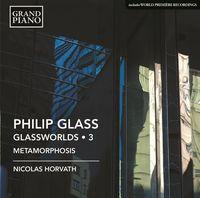 Nicolas Horvath - Glass: Piano Works, Vol. 3